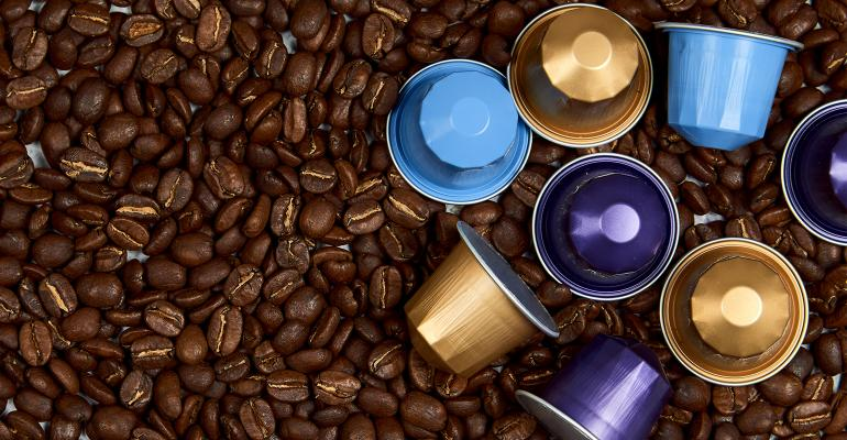 Adobe Stock Coffee beans and capsules 363831267