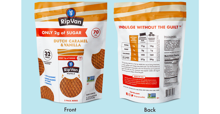 Rip Van stroopwafel pouches front and back