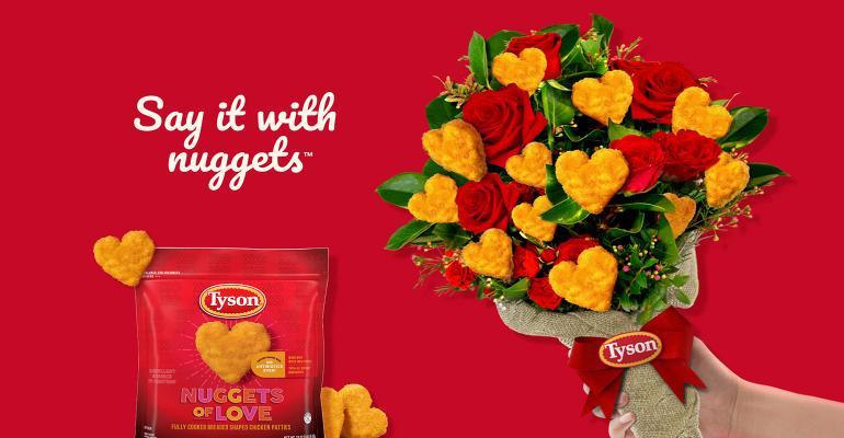 Tyson heart Nuggets