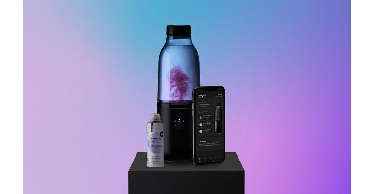 LifeFuels smartphone connected bottle