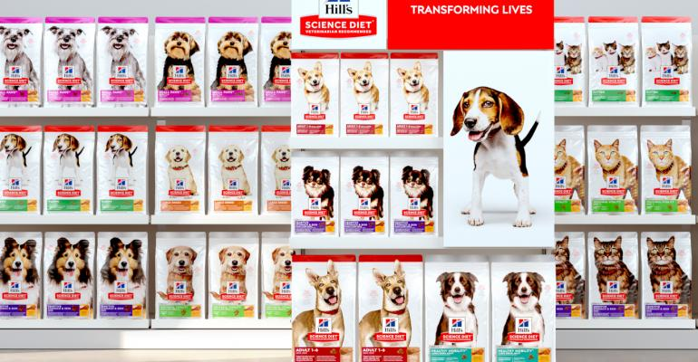 Pets star on new packages of Hill's Science Diet pet food