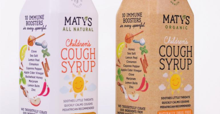 Maty's pharmaceutical packaging radiates 'home remedy'