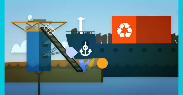 Gyre-cleanup project plans to leverage the power of the ocean