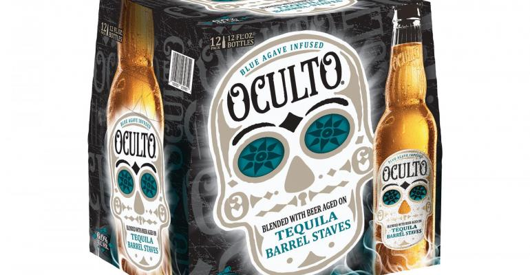 Mysterious Oculto beer serves on-package surprises
