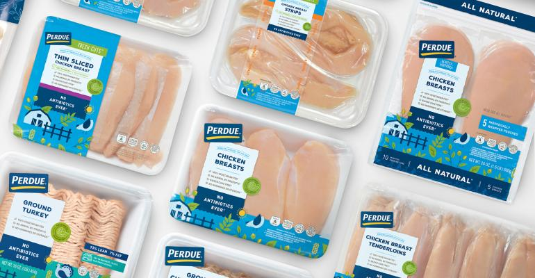 Packaging refresh a natural for Perdue chicken products