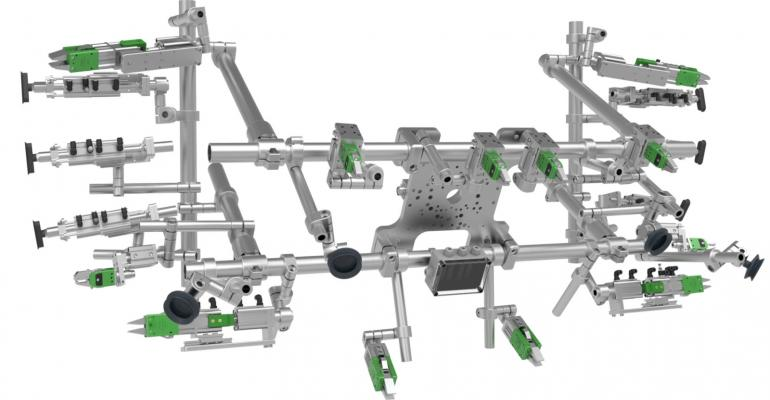 Robotic tooling enables tailor-made automated packaging systems