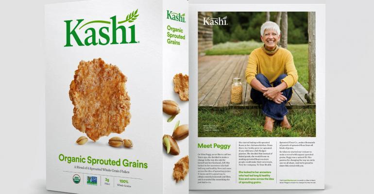 Natural storytelling helps redefine Kashi packaging