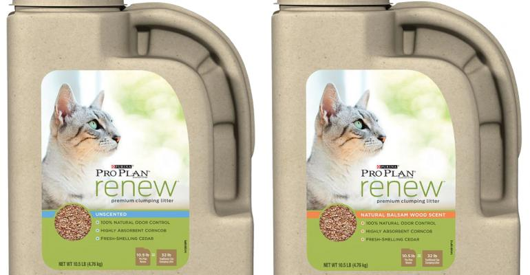 Nestle's sustainable kitty-litter jug is the cat's meow