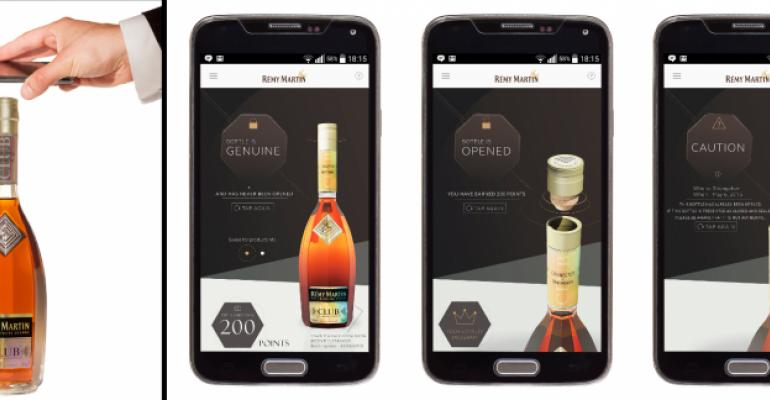 Spirits bottle engages its 'connected' consumers