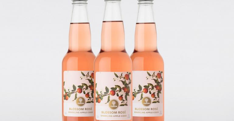 Cider brand branches into premium-feel packaging