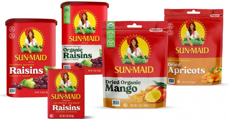 Sun-Maid Entices Millennials with New Packaging Design
