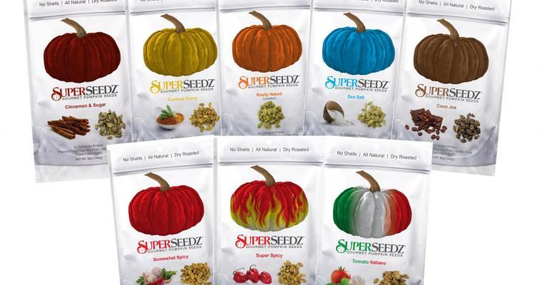 Super clean packaging design promotes healthy snacks