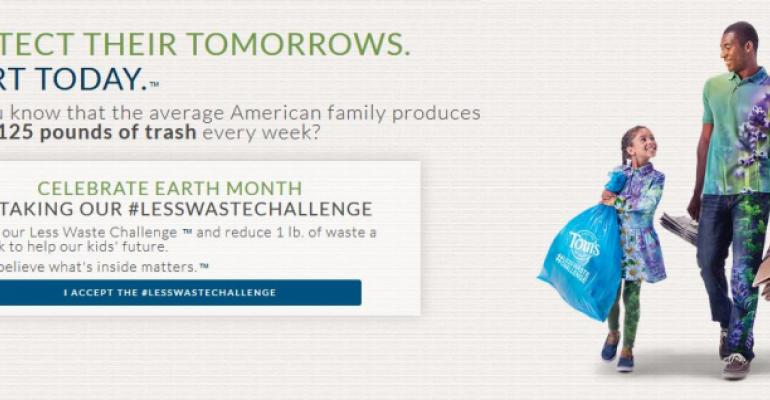 Using social media to inspire consumers into reducing waste