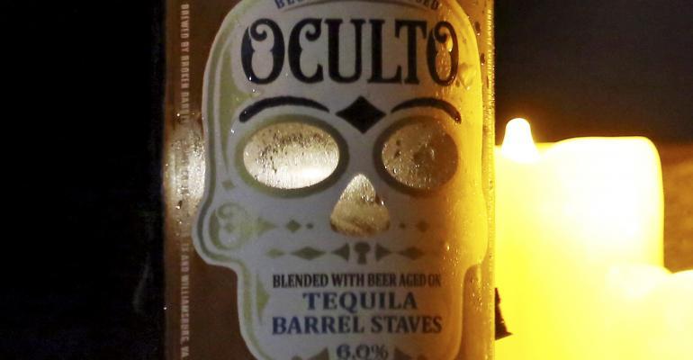 Smart packaging adds more mystique to Oculto beer