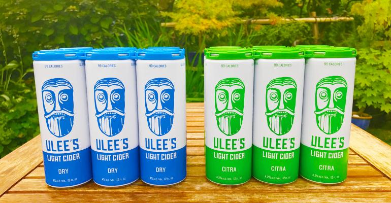 Ulee's craft cider packaging design odyssey