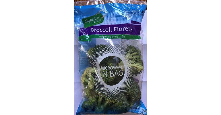 Underweight broccoli bag packaging fail