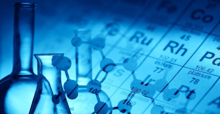 Chemistry graphic