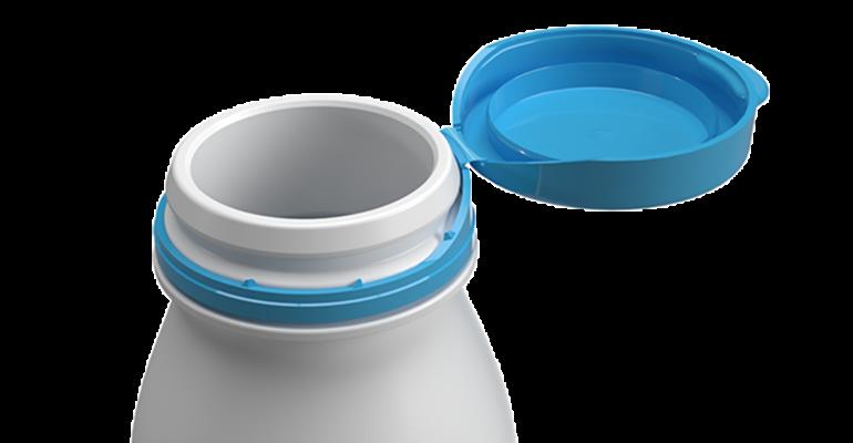 lightweight flip-cap dispenser