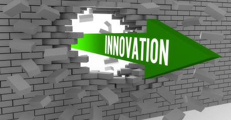 Food waste podcast image innovation brick wall AdobeStock 55117515