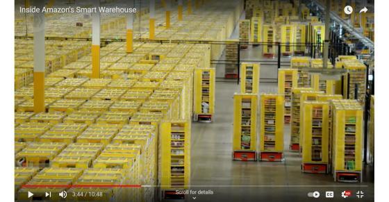 Amazon's Warehouse Robots Do Some Heavy Lifting