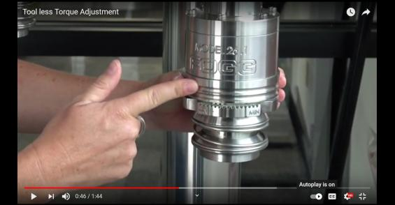 Redesigned Capping Head Offers Tool-Free Torque Adjustment